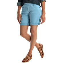 JAG Jordan Twill Shorts - Pull-On (For Women) in Azure - Overstock