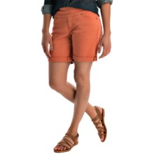 JAG Jordan Twill Shorts - Pull-On (For Women) in Bengal - Overstock