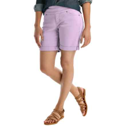 JAG Jordan Twill Shorts - Pull-On (For Women) in Primrose - Overstock