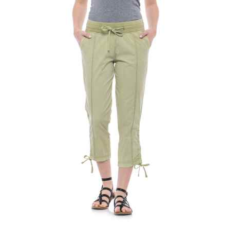 JAG Kensie Crop Pants (For Women) in Kiwi Cutie - Closeouts