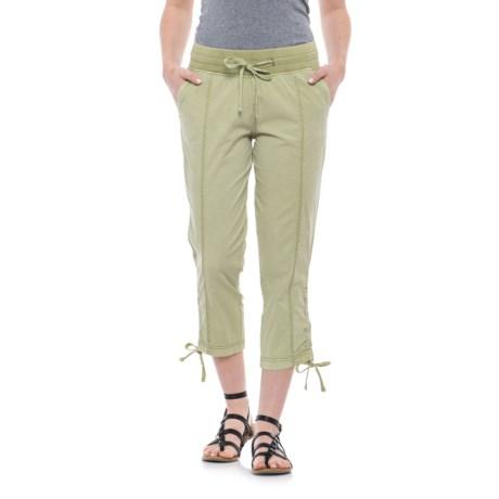 JAG Kensie Crop Pants (For Women) in Kiwi Cutie