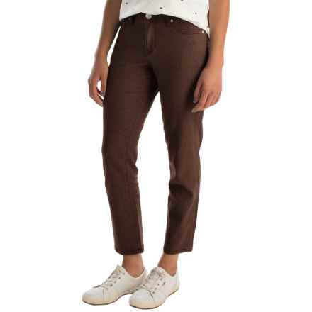 JAG Lena Ankle Pants (For Women) in Java Bean - Overstock