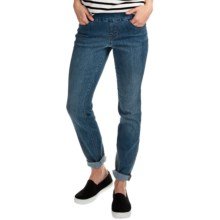 JAG Malia Slim Leg Jeans - Pull On (For Women) in Indigo - Closeouts
