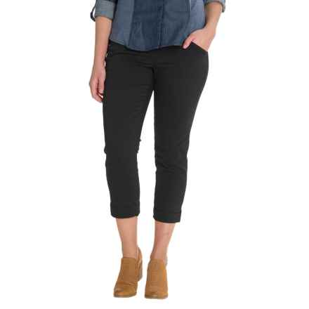 JAG Marion Crop Pants (For Women) in Black - Closeouts