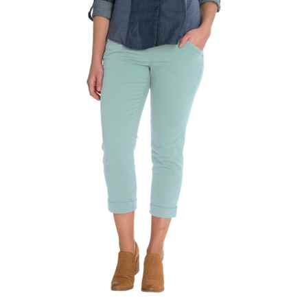 JAG Marion Crop Pants (For Women) in Nile - Closeouts