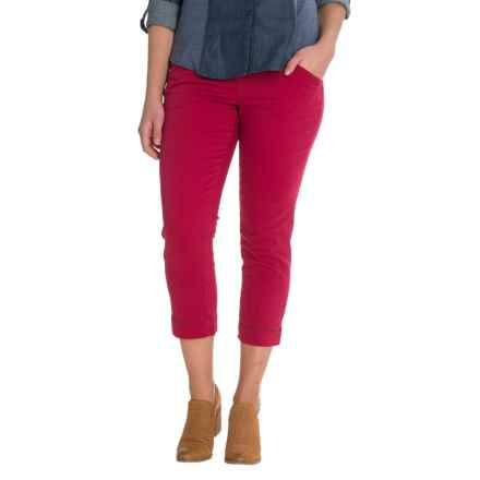 JAG Marion Crop Pants (For Women) in Winter Berry - Closeouts