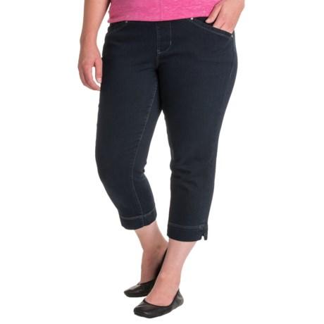 JAG Marion Denim Crop Jeans (For Plus Size Women)