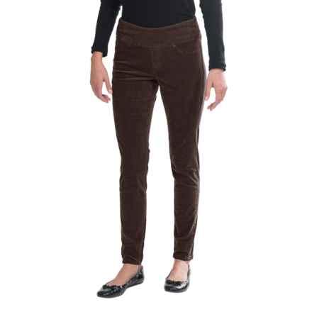 JAG Nikki Leggings - High Rise (For Women) in Dk Chocolate - Closeouts
