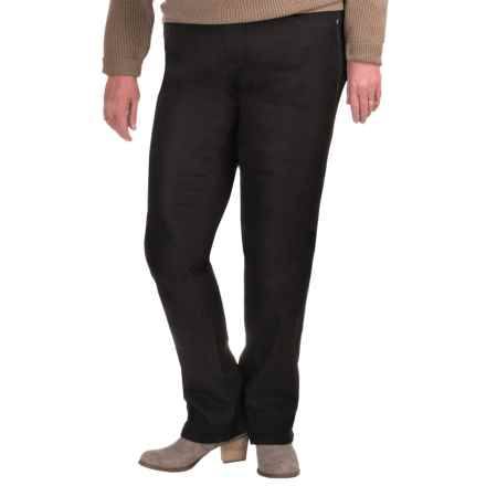 JAG Nora Jeans - Narrow Leg (For Plus Size Women) in Blk Black - Closeouts
