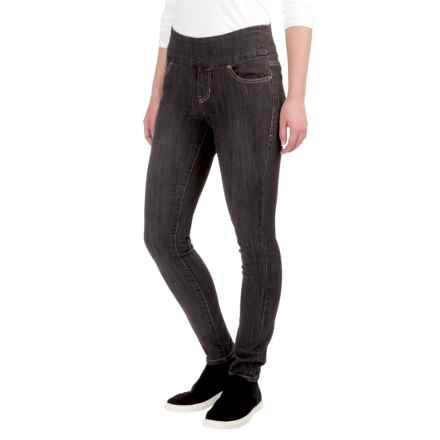 JAG Nora Skinny Jeans - Petite (For Women) in Grey - Closeouts