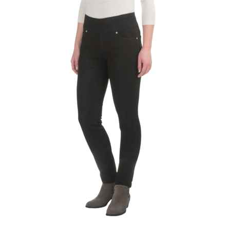 JAG Nora Skinny Jeans - Pull-On (For Women) in Black - Closeouts
