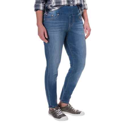 JAG Nora Skinny Jeans - Pull-On (For Women) in Light Indigo - Closeouts