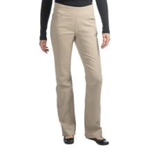 JAG Paley Twill Boot Jeans - Pull-On, High-Rise (For Women) in Birchwood - Closeouts