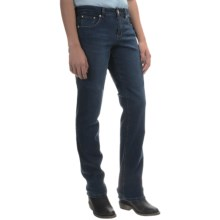 JAG Patton Stretch Jeans - Straight Leg (For Women) in Indigo Blue Shadow - Overstock