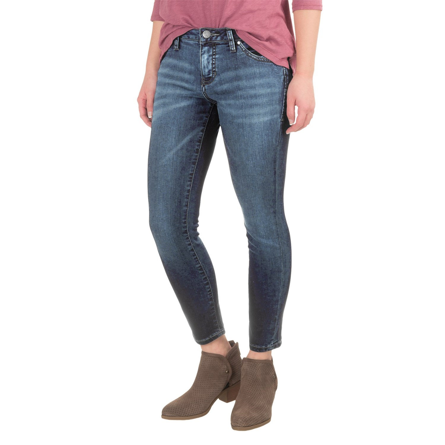 JAG Penelope Slim Ankle Jeans (For Women) - Save 57%