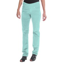 JAG Peri Corduroy Pants - 5-Pocket, Pull-On, Straight Leg (For Women) in Blue Opal - Closeouts