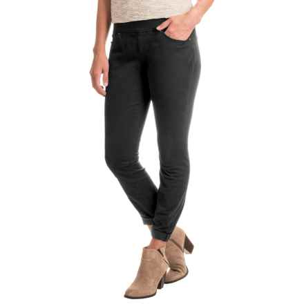 JAG Peri Straight Twill Pants (For Women) in Black - Closeouts