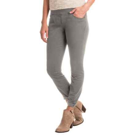 JAG Peri Straight Twill Pants (For Women) in Grey Streak - Closeouts
