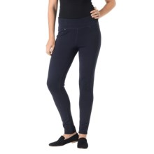 JAG Ricki Leggings - Ponte Knit (For Women) in Dark Navy - Overstock