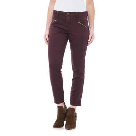 JAG Ryan Freedom Skinny Jeans - Mid Rise (For Women) in Plum Noir - Closeouts