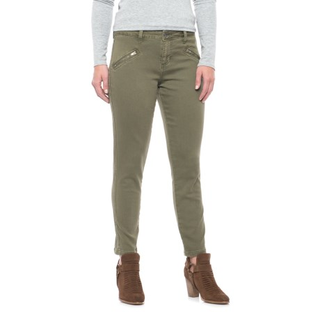 JAG Ryan Freedom Skinny Jeans - Mid Rise (For Women) in Silver Pine