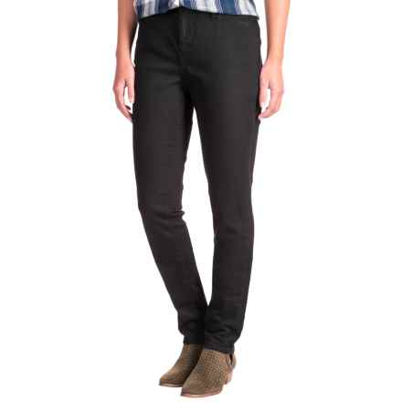 JAG Sheridan Skinny Jeans - Mid Rise (For Women) in Black - Closeouts