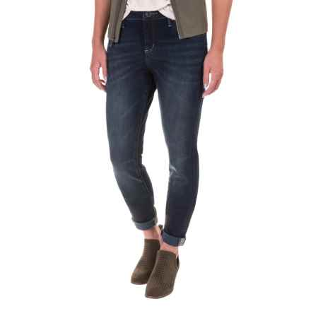 JAG Sheridan Skinny Jeans - Mid Rise (For Women) in Dark Star - Closeouts