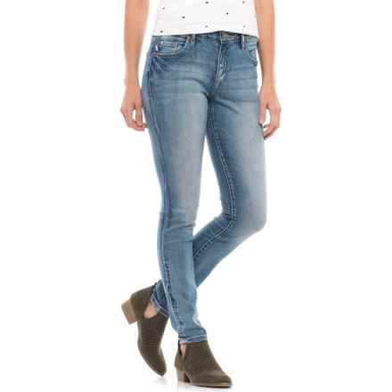 JAG Sheridan Skinny Jeans - Mid Rise (For Women) in Dockside - Closeouts