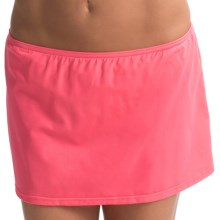 JAG Skirted Bikini Bottoms (For Women) in Coral - Closeouts