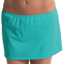 JAG Skirted Bikini Bottoms (For Women) in Island Green - Closeouts