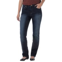 Jag Sydney High-Rise Straight-Leg Jeans (For Women) in Medium Wash - Closeouts