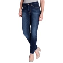 Jag Vanessa High-Rise Skinny Knit Jeans (For Women) in Medium Wash - Closeouts