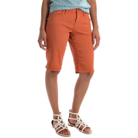 JAG Willa Twill Bermuda Shorts (For Women) in Bengal - Overstock