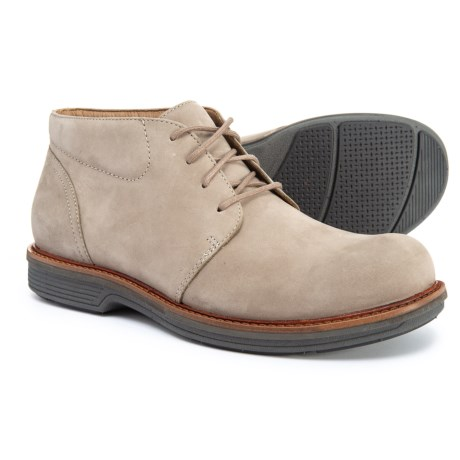 Jake Chukka Boots - Leather (For Men) - TAUPE MILLED (43 )