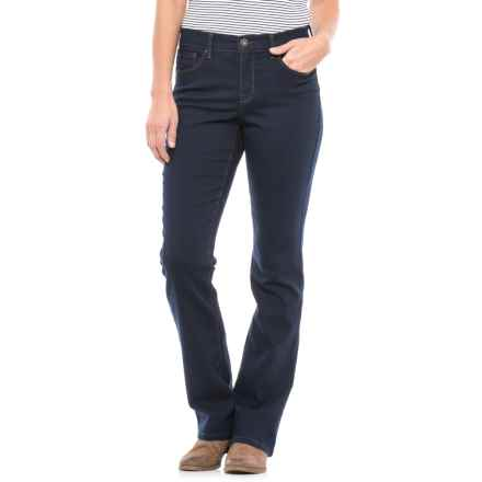 Jambe Bootcut Jeans (For Women) in Navy - 2nds