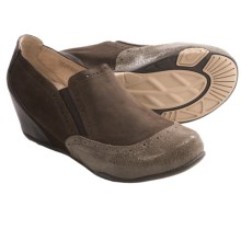 Jambu Allure Wedge Shoes - Slip-Ons (For Women) in Brown - Closeouts