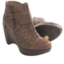Jambu Amber Ankle Boots - Wedge, Platform (For Women) in Latte - Closeouts