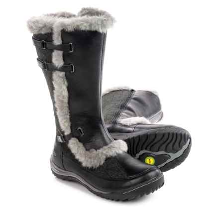 Jambu Arctic Snow Boots - Vegan Leather (For Women) in Black - Closeouts