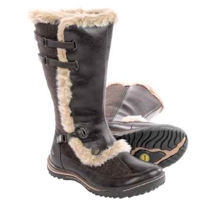 Jambu Arctic Snow Boots - Vegan Leather (For Women) in Dark Brown - Closeouts