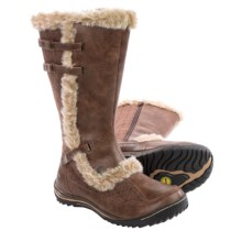 Jambu Arctic Snow Boots - Vegan Leather (For Women) in Tobacco - Closeouts
