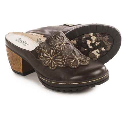 Jambu Balsa Clogs - Leather (For Women) in Brown - Closeouts