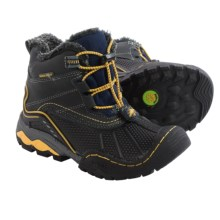 Jambu Baltoro 2 Snow Boots - Waterproof, Leather (For Little and Big Boys) in Antwerp Grey - Closeouts