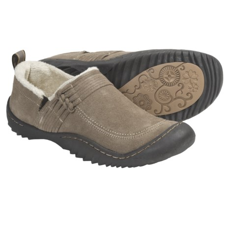 Jambu Bar Harbor Shoes - Suede (For Women) in Khaki