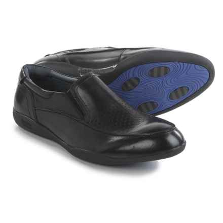 Jambu Belfast-HYPERgrip® Loafers - Leather (For Men) in Black - Closeouts