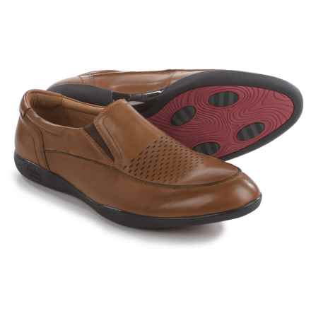 Jambu Belfast-HYPERgrip® Loafers - Leather (For Men) in Chestnut - Closeouts