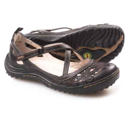 Jambu Blossom Encore Shoes - Leather (For Women) in Black Earth - Closeouts