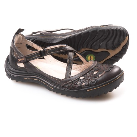 Jambu Blossom Encore Shoes - Leather (For Women) in Black Earth