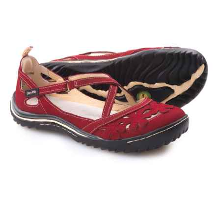 Jambu Blossom Encore Shoes - Leather (For Women) in Red - Closeouts