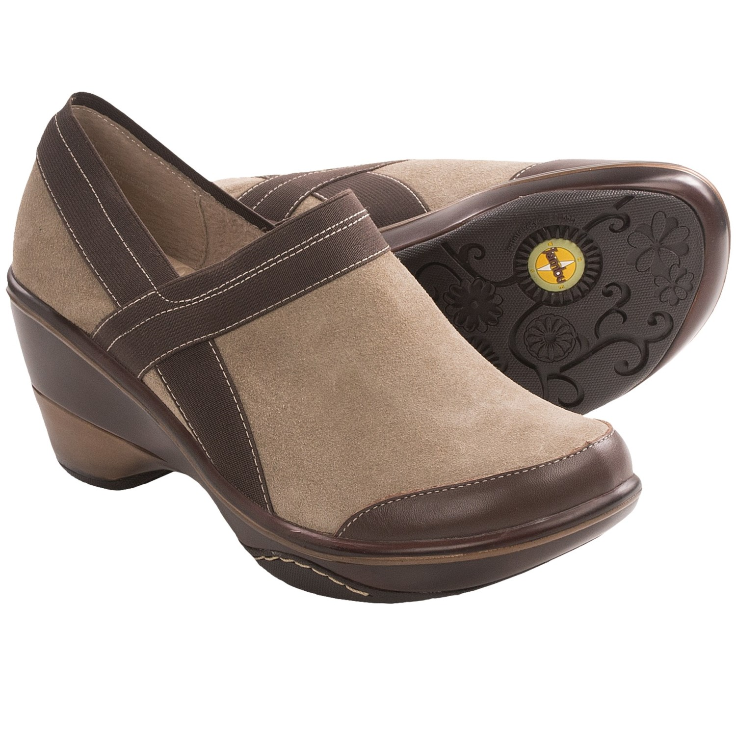 Jambu Cali-Classic Shoes - Clogs (For Women) in Khaki
