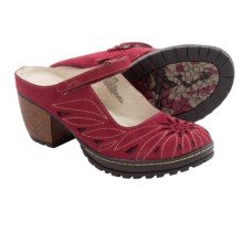 Jambu Canyon Shoes - Nubuck (For Women) in Deep Red - Closeouts